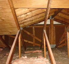 Now The Good Part  Using The New Attic Storage Space!