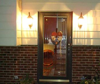 Door security front door security light for Front door security