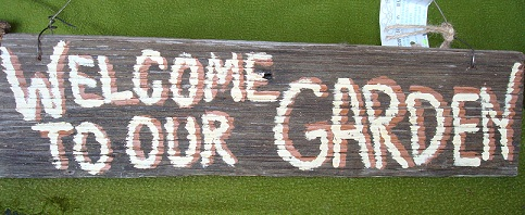 Scrappy Signs For Your Garden Examples Are Featured Below   Shop Here.